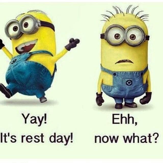 Minion rest day